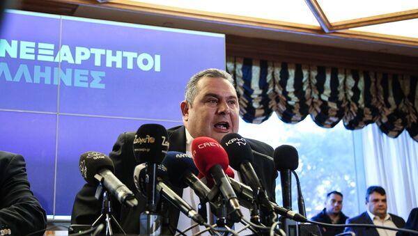 Ο Πάνος Καμμένος - Sputnik Ελλάδα