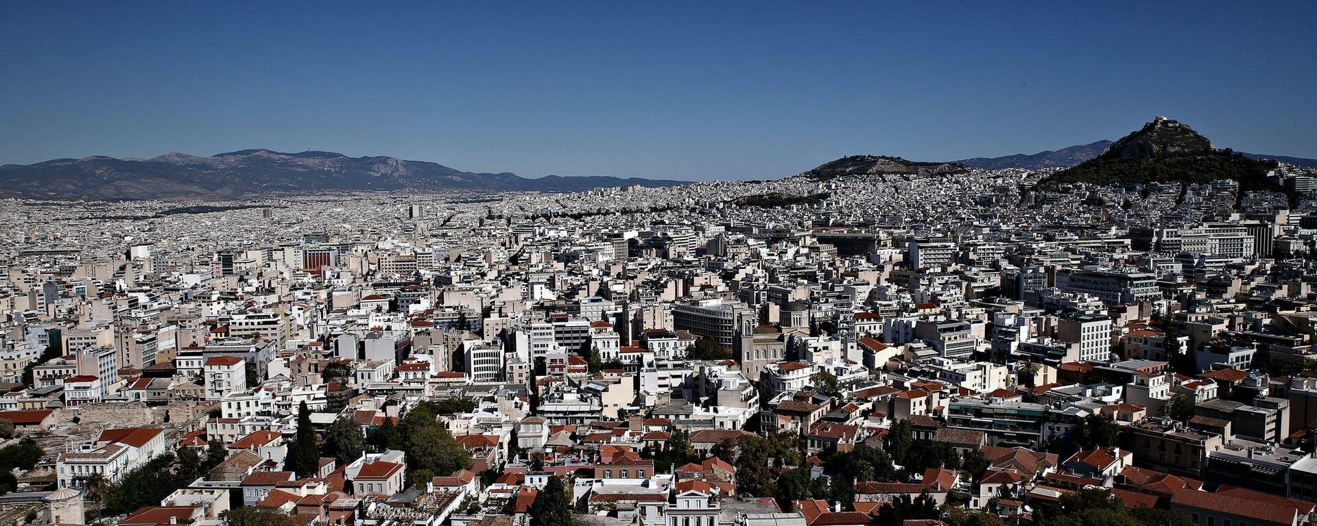 Πανοραμική όψη της Αθήνας - Sputnik Ελλάδα, 1920, 17.09.2021