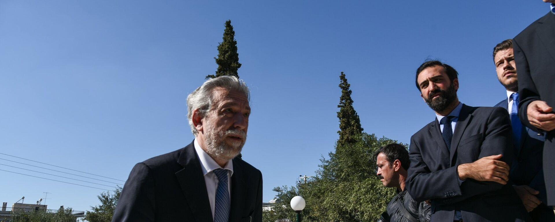 Ο υπουργός Δικαιοσύνης Σταύρος Κοντονής - Sputnik Ελλάδα, 1920, 09.04.2021