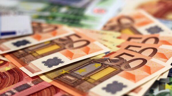 Χαρτονομίσματα ευρώ - Sputnik Ελλάδα