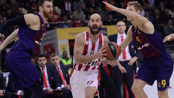 Σπανούλης Μπαρτσελόνα νίκη - Sputnik Ελλάδα