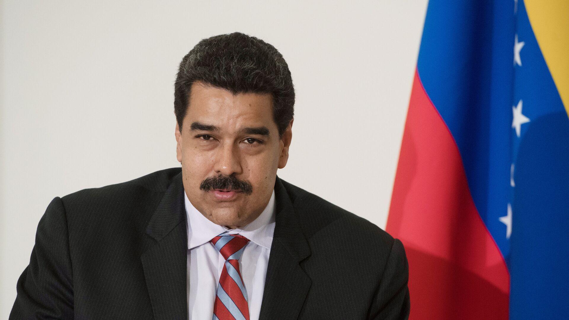 Ο πρόεδρος της Βενεζουέλας Νικολάς Μαδούρο  - Sputnik Ελλάδα, 1920, 15.10.2021