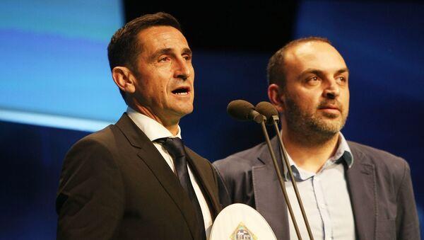 Ο Μανόλο Χιμένεθ στα φετινά βραβεία ΠΣΑΠ - Sputnik Ελλάδα