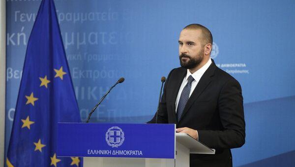 Ο Δημήτρης Τζανακόπουλος - Sputnik Ελλάδα