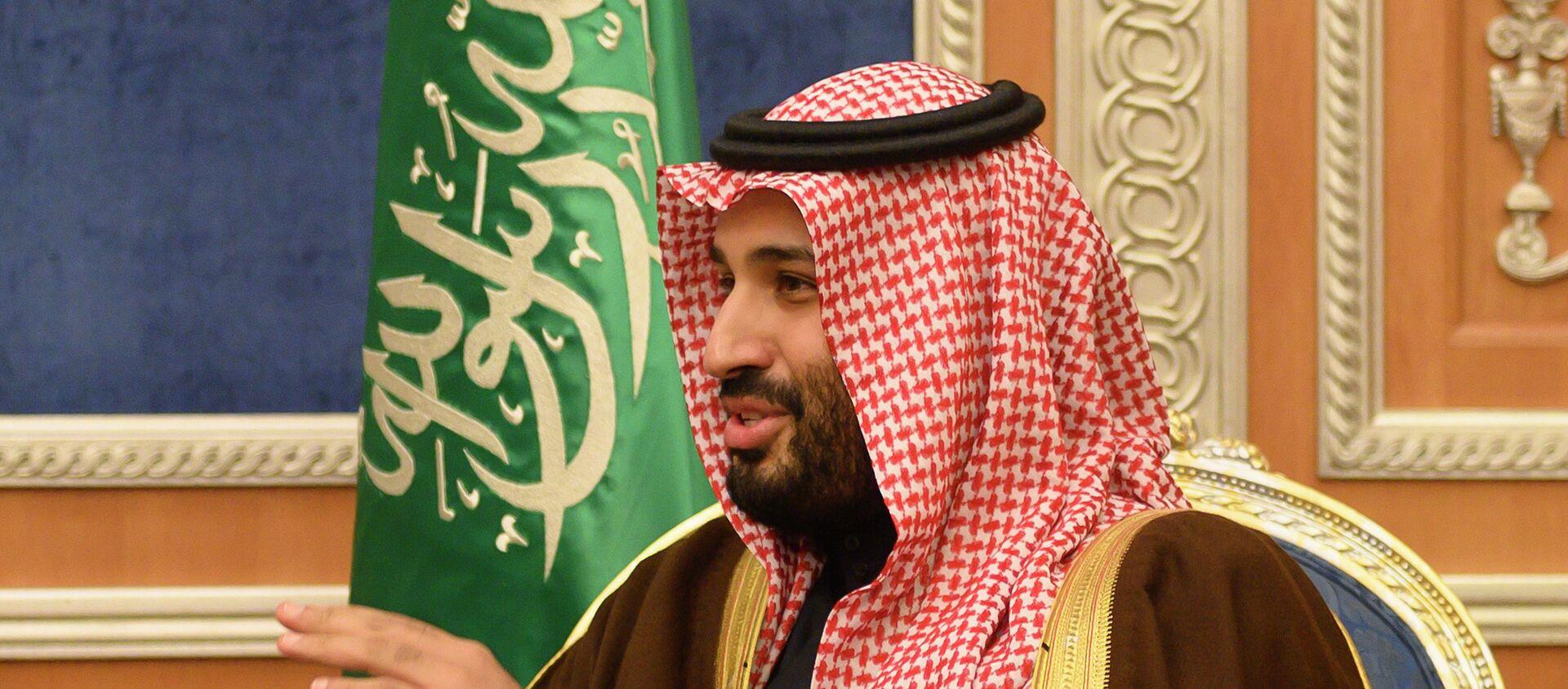 Ο πρίγκηπας της Σαουδικής Αραβίας, Μοχάμεντ Μπιν Σαλμάν - Sputnik Ελλάδα, 1920, 22.01.2020