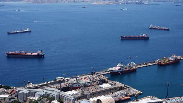Λιμάνι στο Γιβραλτάρ. - Sputnik Ελλάδα