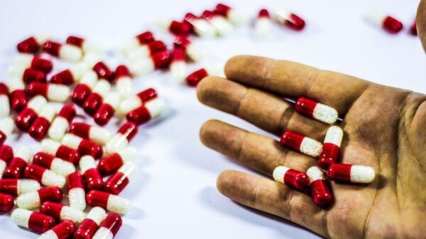 Φάρμακα σε μορφή χαπιού - Sputnik Ελλάδα