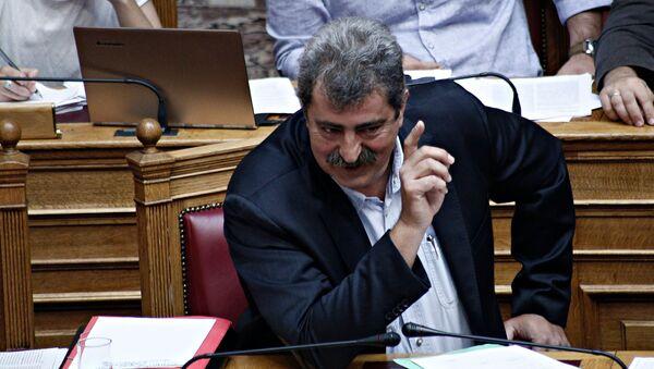 Ο αναπληρωτής υπουργός Υγείας Παύλος Πολάκης - Sputnik Ελλάδα