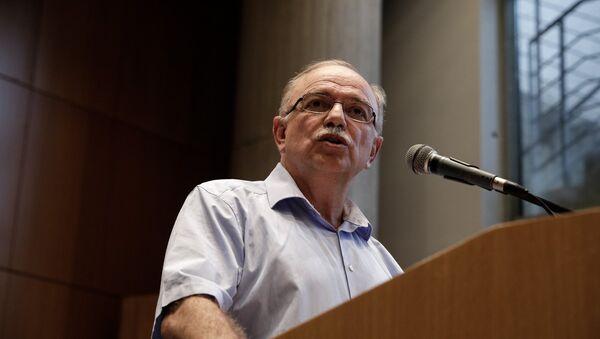 Ο αντιπρόεδρος του ευρωκοινοβουλίου και ευρωβουλευτής του ΣΥΡΙΖΑ Δημήτρης Παπαδημούλης - Sputnik Ελλάδα