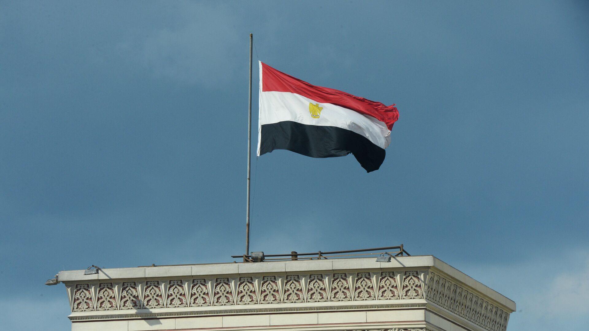 Η σημαία της Αιγύπτου σε κτήριο του Καΐρου - Sputnik Ελλάδα, 1920, 05.10.2021