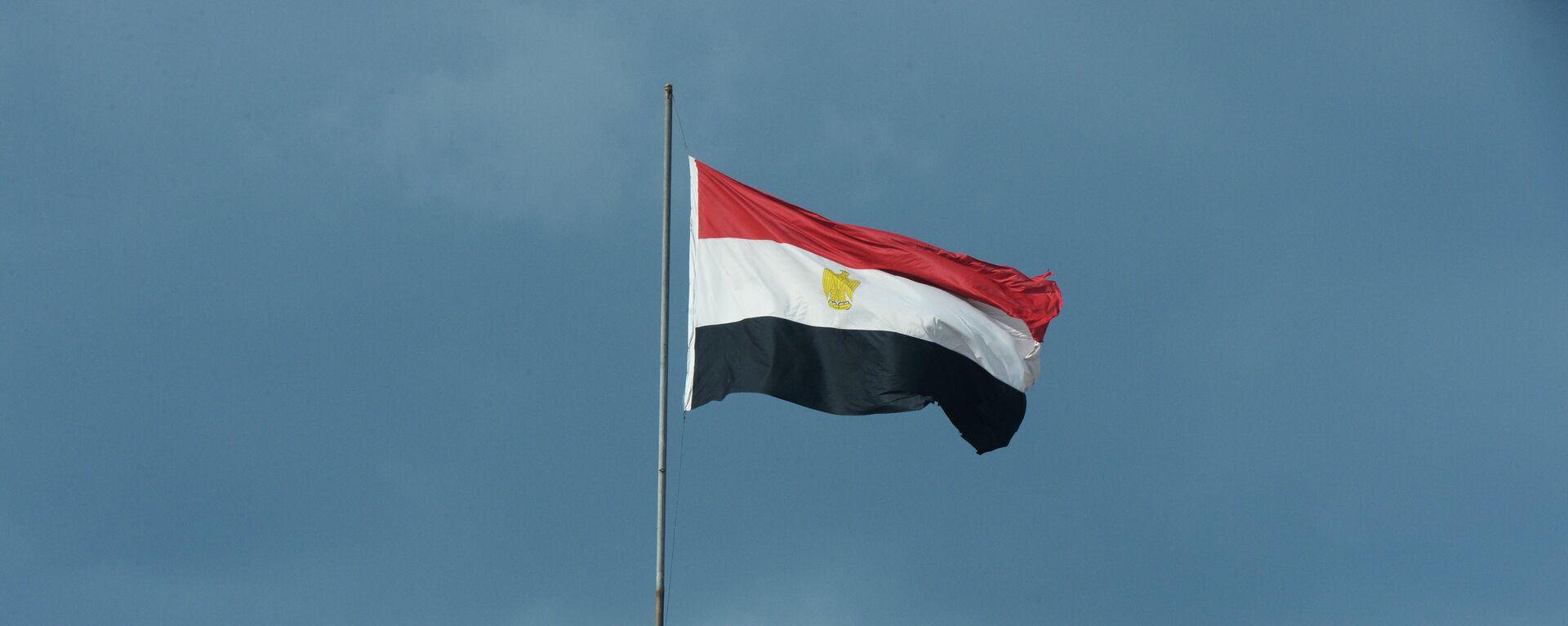 Η σημαία της Αιγύπτου σε κτήριο του Καΐρου - Sputnik Ελλάδα, 1920, 12.10.2021