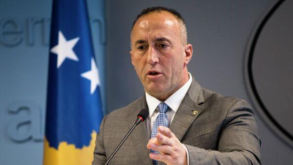 Ο πρωθυπουργός του Κοσόβου, Ραμούς Χαραντινάι - Sputnik Ελλάδα