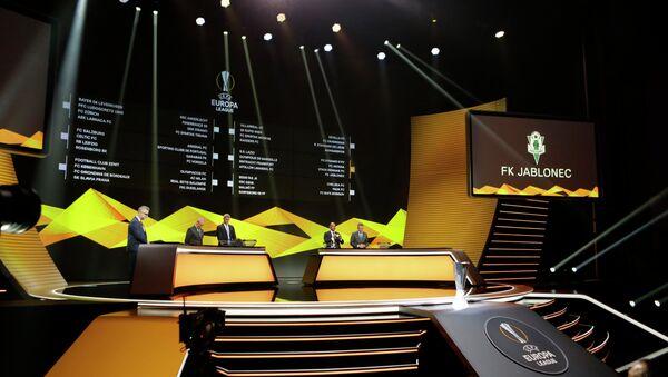 Η κλήρωση του Europa League στο Μονακό - Sputnik Ελλάδα