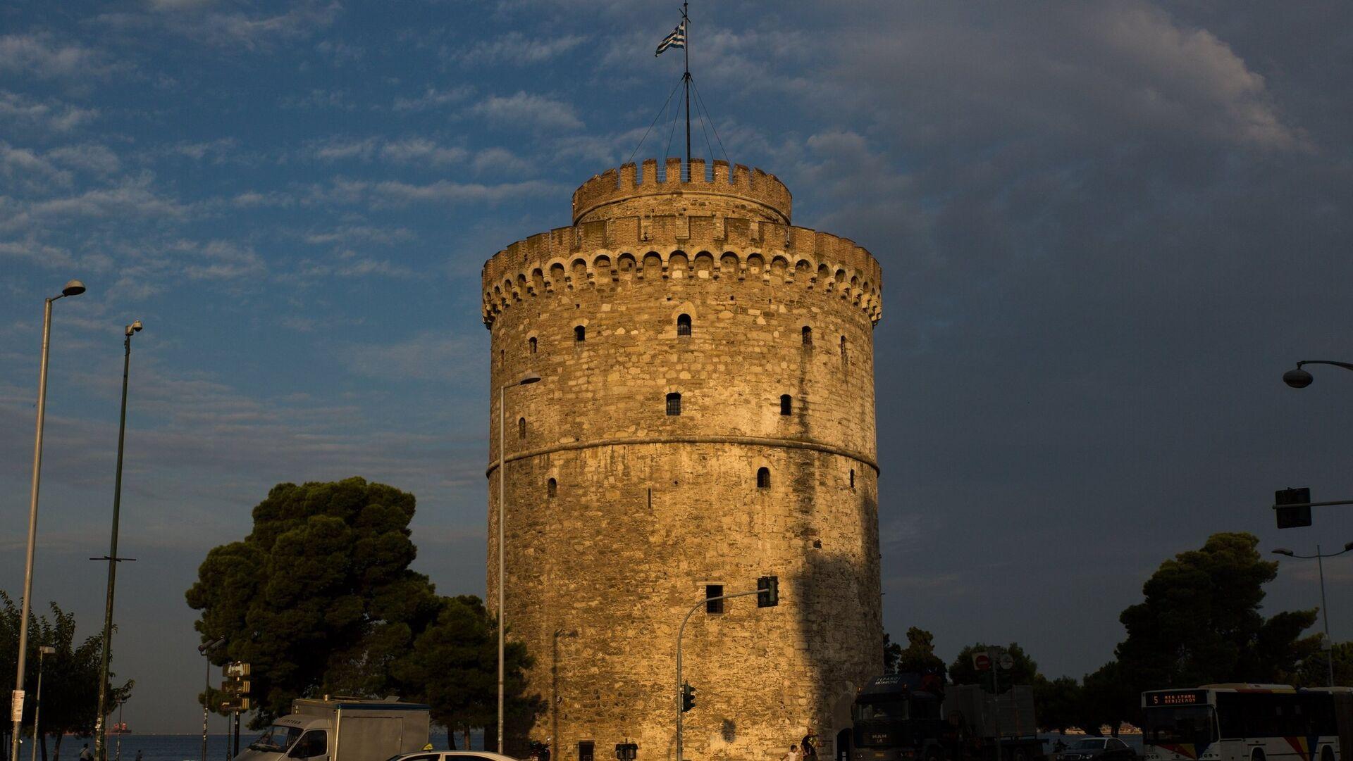 Ο Λευκός Πύργος το σούρουπο - Sputnik Ελλάδα, 1920, 10.10.2021