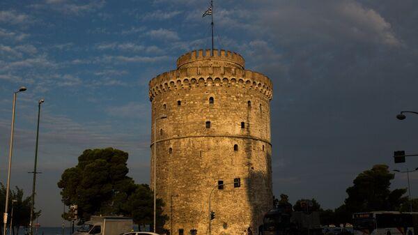 Ο Λευκός Πύργος το σούρουπο - Sputnik Ελλάδα