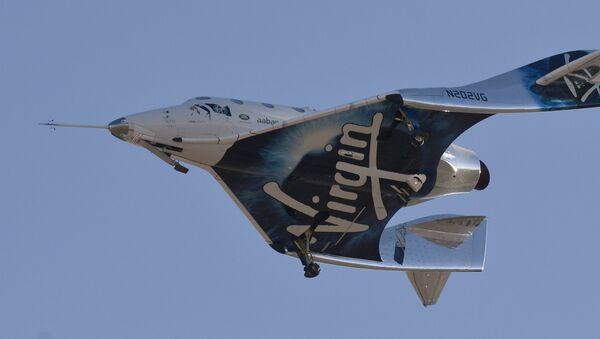 Το πυραυλοκίνητο αεροπλάνο της Virgin Galactic VSS Unity - Sputnik Ελλάδα