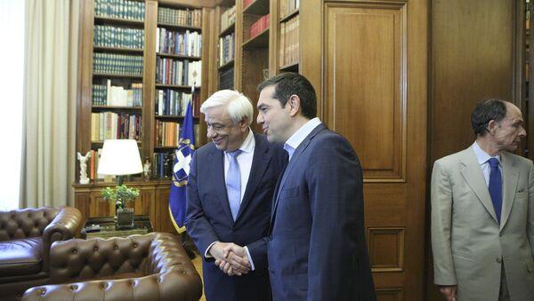 Συνάντηση του Πρωθυπουργού με τον Πρόεδρο της Δημοκρατίας - Sputnik Ελλάδα