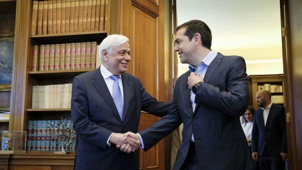 Ο Αλέξης Τσίπρας στο Προεδρικό Μέγαρο - Sputnik Ελλάδα
