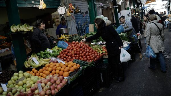 Κεντρική αγορά την Καθαρά Δευτέρα, Αρχείο - Sputnik Ελλάδα