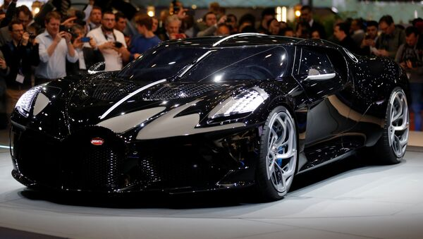 Το νέο μοντέλο της Bugatti - Sputnik Ελλάδα