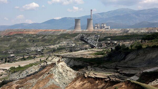 Λιγνιτωρυχείο στη Φλώρινα - Sputnik Ελλάδα