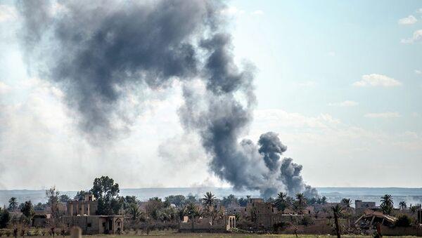 Επίθεση κατά της Μπαγκούζ στη Συρία - Sputnik Ελλάδα