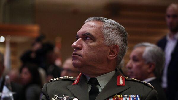 Ο Στρατηγός Μιχάλης Κωσταράκος επίτιμος πρόεδρος ΓΕΕΘΑ - Sputnik Ελλάδα