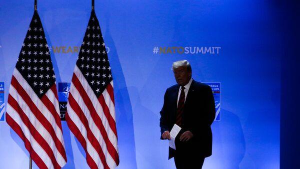 Ο πρόεδρος των ΗΠΑ Ντόναλντ Τραμπ - Sputnik Ελλάδα