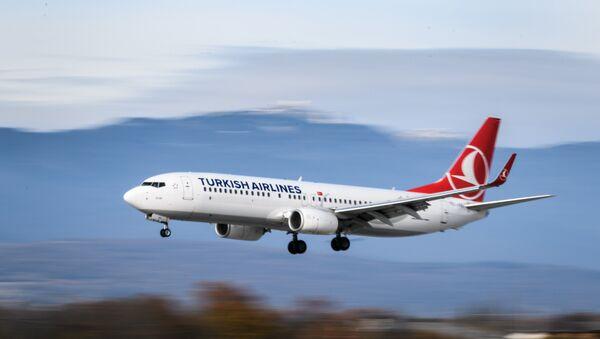 Boeing 737-800 της Turkish Airlines - Sputnik Ελλάδα
