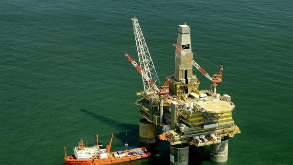 Πλατφόρμα άντλησης πετρελαίου - Sputnik Ελλάδα