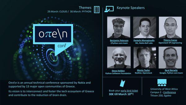 1ο συνέδριο «Oπe\n» - Sputnik Ελλάδα
