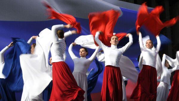 Η Κριμαία γιορτάζει τα πέντε χρόνια από την επανένωση με τη Ρωσία - Sputnik Ελλάδα