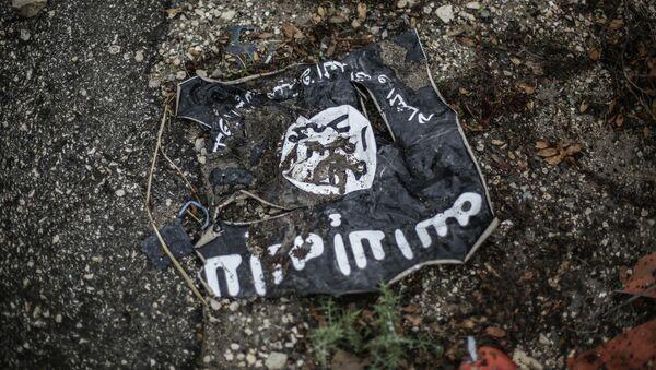 Σημαία του Ισλαμικού Κράτους στη Συρία - Sputnik Ελλάδα