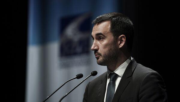 O υπουργός Εσωτερικών Αλέξης Χαρίτσης - Sputnik Ελλάδα