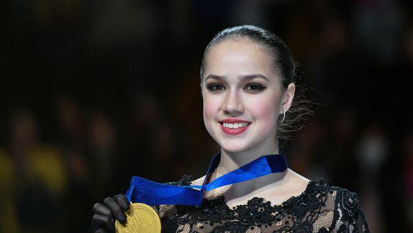 Η παγκόσμια πρωταθλήτρια Αλίνα Ζαγκίτοβα - Sputnik Ελλάδα