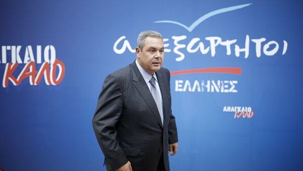 Ο πρόεδρος των ΑΝΕΛ Πάνος Καμμένος - Sputnik Ελλάδα