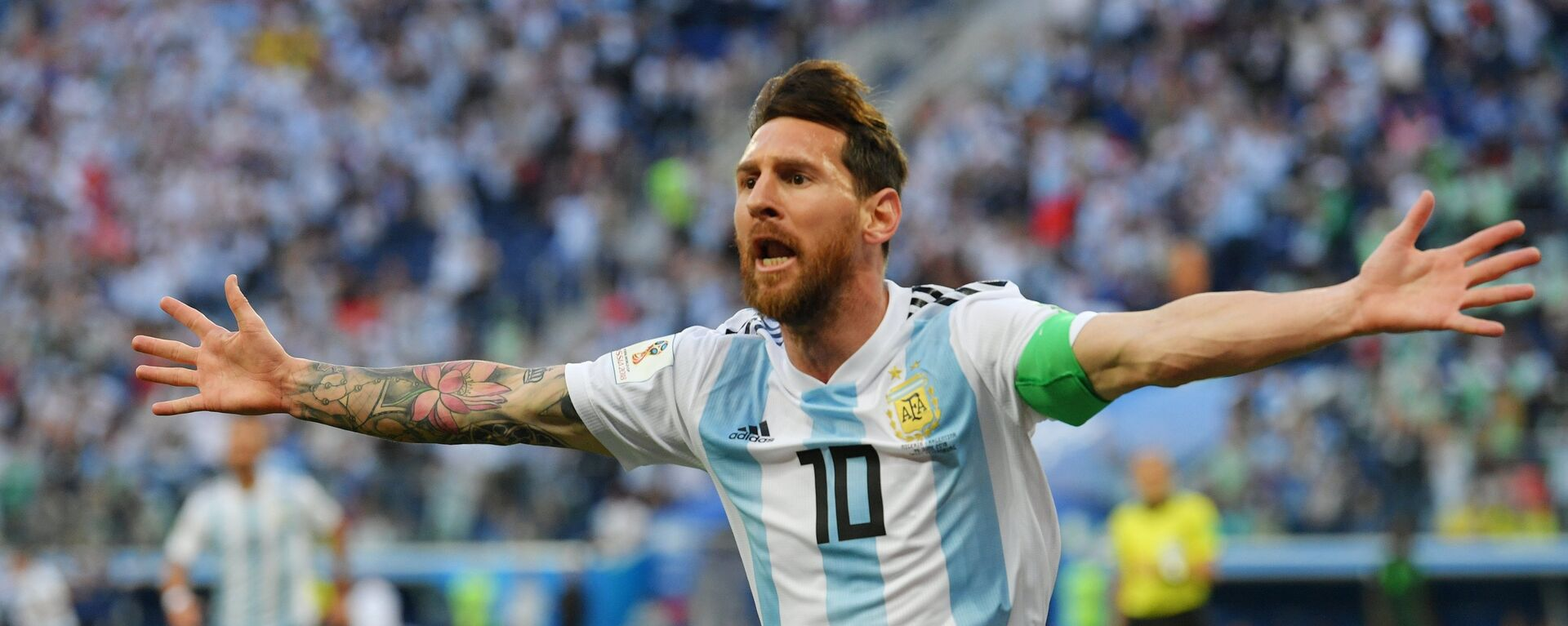 Λιονέλ Μέσι, Νιγηρία - Αργεντινή, Παγκόσμιο Κύπελλο 2018, Ρωσία - Sputnik Ελλάδα, 1920, 03.09.2021