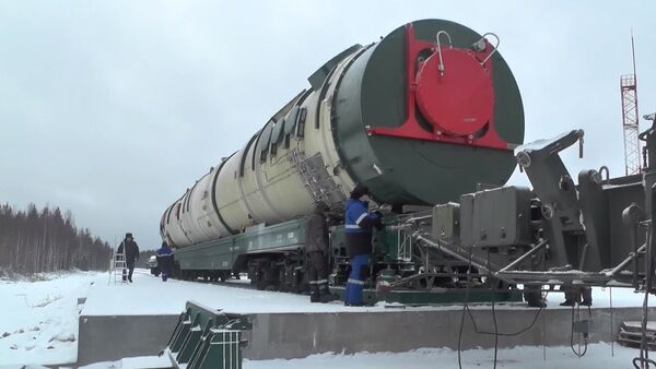 Russia's Sarmat ICBM - Sputnik Ελλάδα