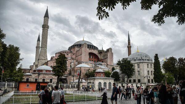 Η Αγιά Σοφιά στην Κωνσταντινούπολη - Sputnik Ελλάδα