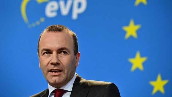 Ο Μάνφρεντ Βέμπερ του Ευρωπαϊκού Λαϊκού Κόμματος - Sputnik Ελλάδα