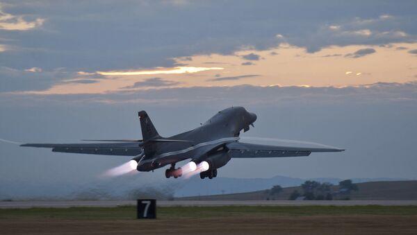 Στρατηγικό βομβαρδιστικό B-1B Lancer των ΗΠΑ - Sputnik Ελλάδα