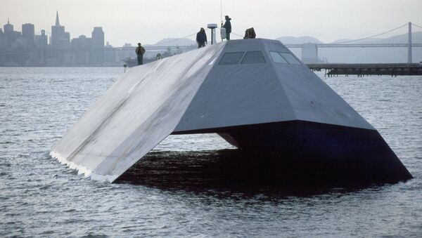 Το IX-529 Sea Shadow - Sputnik Ελλάδα
