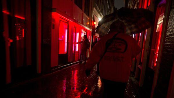 Η γειτονικά με τα «κόκκινα φανάρια» στο Άμστερνταμ - Sputnik Ελλάδα