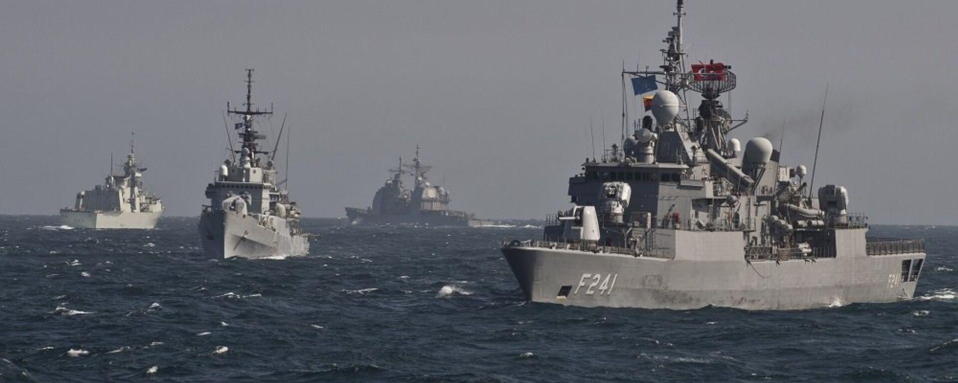 Πολεμικά πλοία του NATO σε άσκηση στη Μαύρη Θάλασσα - Sputnik Ελλάδα, 1920, 05.08.2021
