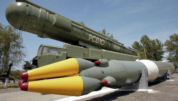Το πυραυλικό σύστημα μέσου βεληνεκούς RSD-10 καταστρέφεται στο πλαίσιο της Συνθήκης IMF - Sputnik Ελλάδα