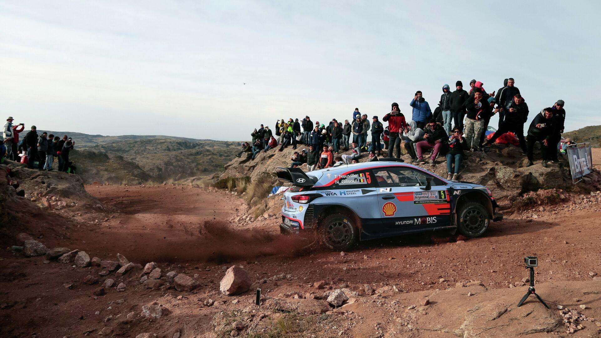 Φωτογραφία από αγώνα ράλι WRC στην Αργεντινή - Sputnik Ελλάδα, 1920, 09.09.2021