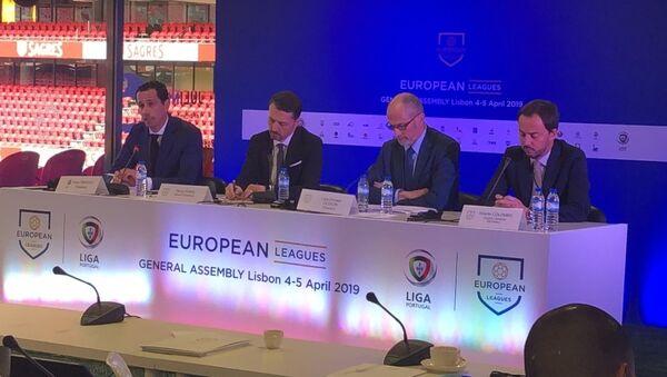 Το πάνελ της διάσκεψης των Λιγκών - Sputnik Ελλάδα