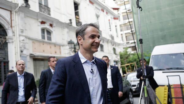 Ο πρόεδρος της ΝΔ Κυριάκος Μητσοτάκης - Sputnik Ελλάδα