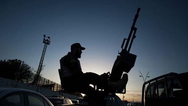 Στρατιώτης στη Λιβύη - Sputnik Ελλάδα