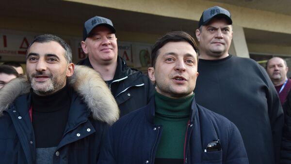 Ο υποψήφιος για την προεδρία της Ουκρανίας και ηθοποιός Βολοντίμιρ Ζελένσκι - Sputnik Ελλάδα